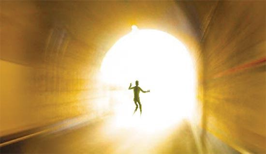 muerte y Luz al final del tunel