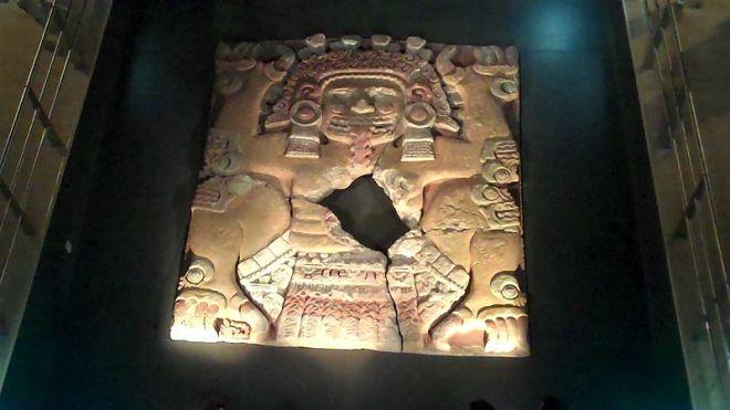 Monolito de Tlaltecuhtli en el Museo del Templo Mayor de la Ciudad de México ProtoplasmaKid
